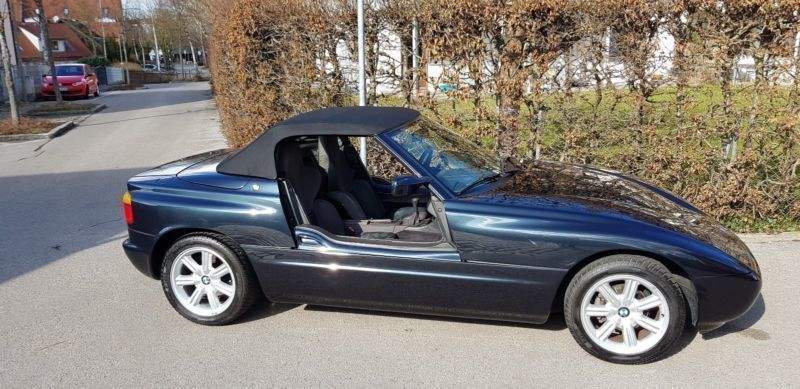verkauft bmw z1 gebraucht 1991 km in feldmoching. Black Bedroom Furniture Sets. Home Design Ideas