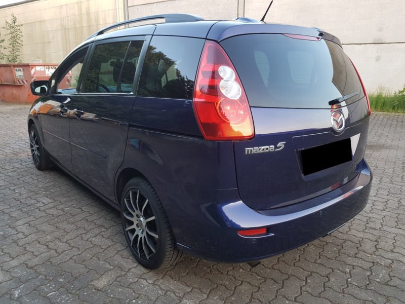 verkauft mazda 5 2 0 cd dpf top gebraucht 2006 km in rosdorf. Black Bedroom Furniture Sets. Home Design Ideas