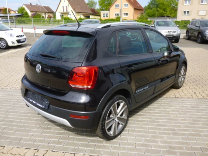verkauft vw polo cross 1 2 tsi polo gebraucht 2011 67. Black Bedroom Furniture Sets. Home Design Ideas