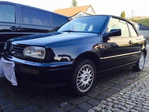 verkauft vw golf cabriolet gebraucht 1996 km in. Black Bedroom Furniture Sets. Home Design Ideas