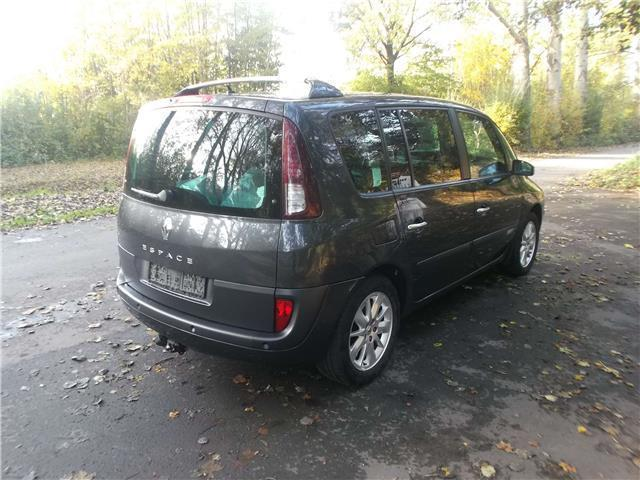gebraucht 2 0 aut renault espace 2008 km in. Black Bedroom Furniture Sets. Home Design Ideas