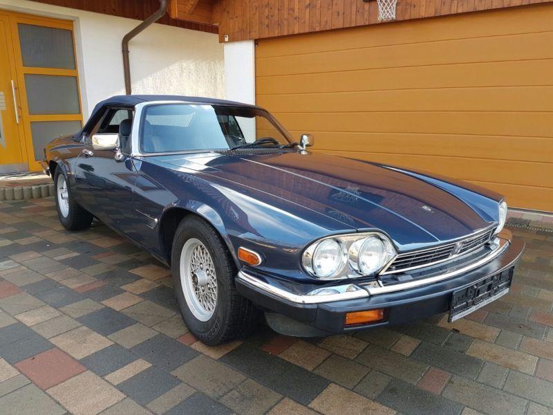 verkauft jaguar xjs cabrio v12 automat gebraucht 1989 9. Black Bedroom Furniture Sets. Home Design Ideas
