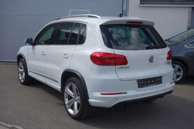 Verkauft VW Tiguan R-Line Interieur+Ex., gebraucht 2014, 25.556 km ...