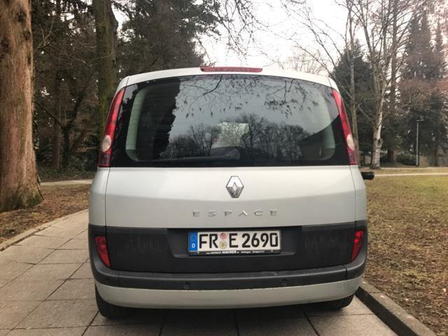 gebraucht 2 0 t renault espace 2004 km in bad. Black Bedroom Furniture Sets. Home Design Ideas