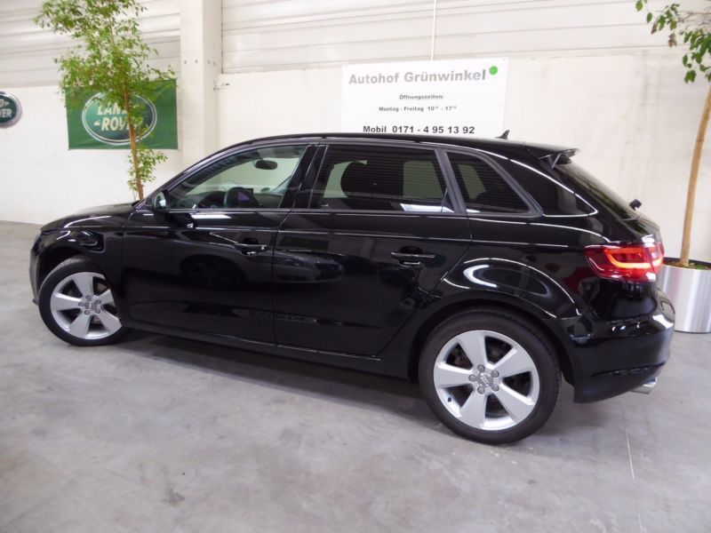 verkauft audi a3 sportback 2 0tdi sp gebraucht 2014 km in karlsruhe. Black Bedroom Furniture Sets. Home Design Ideas