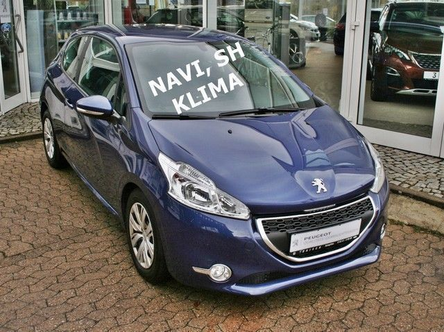 verkauft peugeot 208 1 4 vti 95 active gebraucht 2012 km in salzgitter. Black Bedroom Furniture Sets. Home Design Ideas