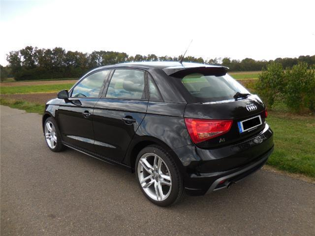 verkauft audi a1 sportback 1 2 tfsi s gebraucht 2014. Black Bedroom Furniture Sets. Home Design Ideas