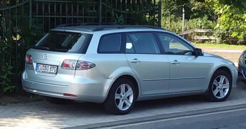 verkauft mazda 6 kombi, 1.8l mit lpg +., gebraucht 2008, 230.000 km