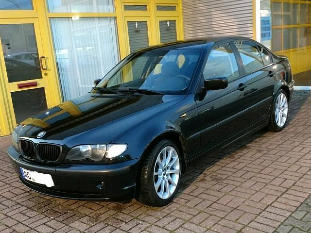 verkauft bmw 320 3er gebraucht 2002 km in aachen. Black Bedroom Furniture Sets. Home Design Ideas