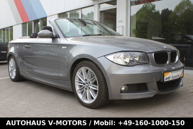 verkauft bmw 118 cabriolet d m sport gebraucht 2009. Black Bedroom Furniture Sets. Home Design Ideas