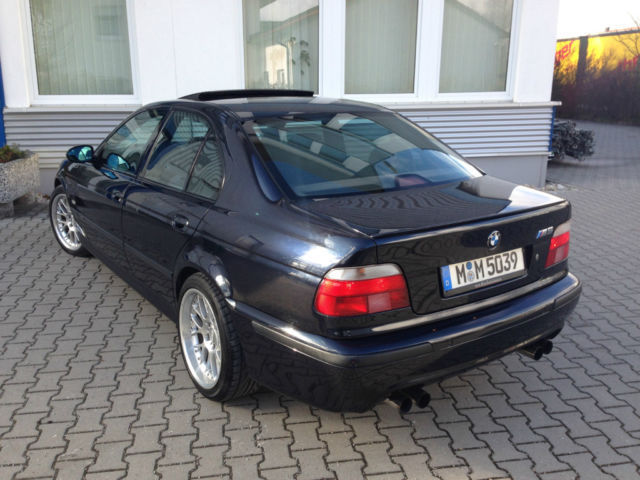 verkauft bmw m5 e39 carbonschwarz lede gebraucht 1999 km in aschheim. Black Bedroom Furniture Sets. Home Design Ideas