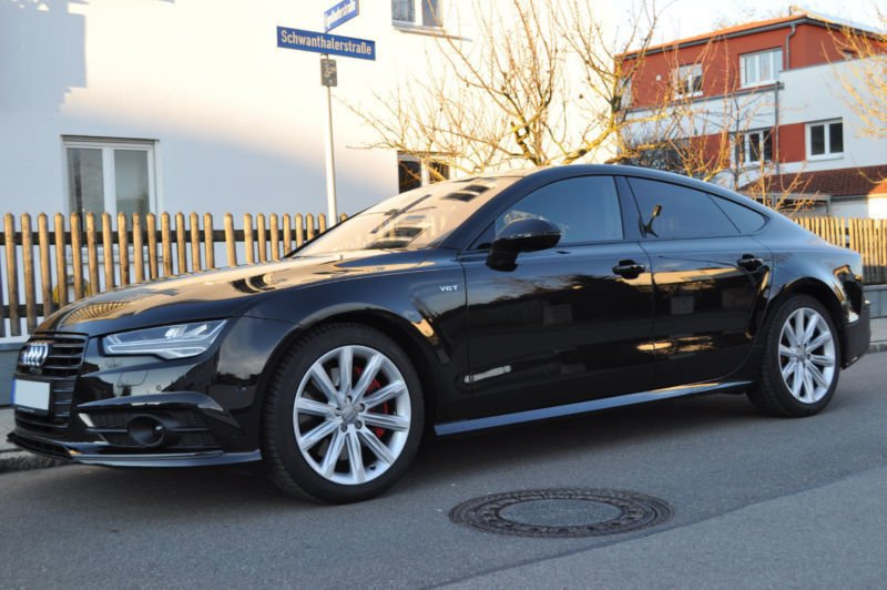 verkauft audi a7 3 0 tdi s line compet gebraucht 2016 km in eppertshausen. Black Bedroom Furniture Sets. Home Design Ideas