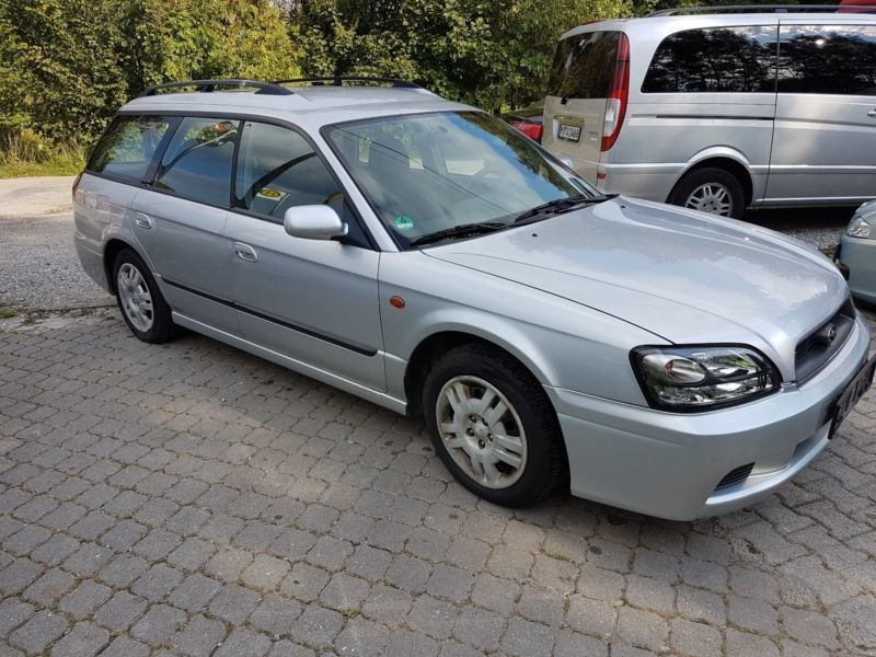 gebraucht 2 0 gl 4wd subaru legacy 2002 km in miesbach parsberg. Black Bedroom Furniture Sets. Home Design Ideas