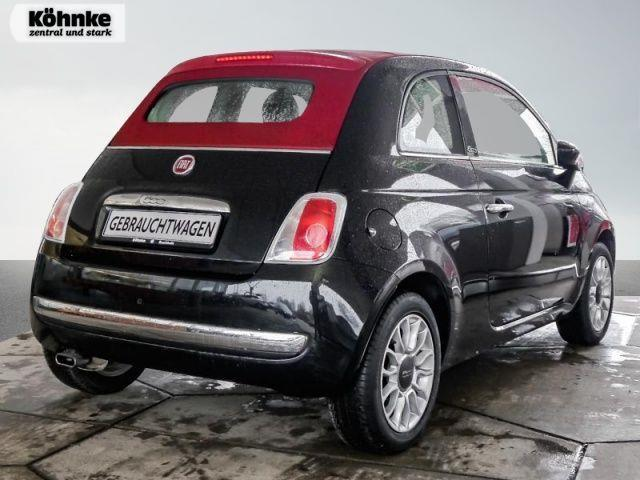 verkauft fiat 500c 500 lounge gebraucht 2014 km in buchholz. Black Bedroom Furniture Sets. Home Design Ideas