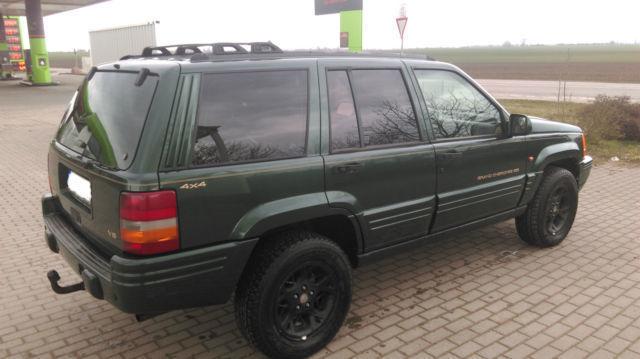 verkauft jeep grand cherokee 5 2 limit gebraucht 1996 km in bernburg. Black Bedroom Furniture Sets. Home Design Ideas