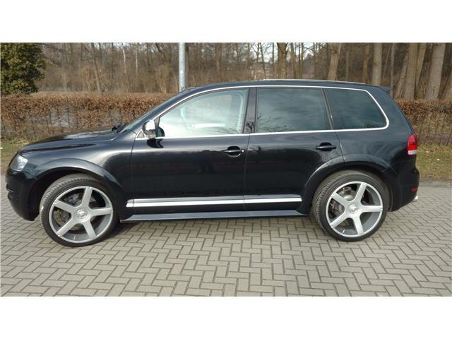 verkauft vw touareg w12 executive gebraucht 2005 km in emmendingen. Black Bedroom Furniture Sets. Home Design Ideas