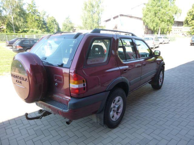 verkauft opel frontera b limited alu s gebraucht 1999 km in mecklenburg vorpommern. Black Bedroom Furniture Sets. Home Design Ideas