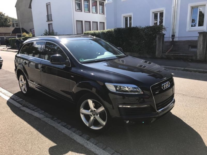 verkauft audi q7 4 2 tdi dpf quattro t gebraucht 2008 km in wittlingen. Black Bedroom Furniture Sets. Home Design Ideas