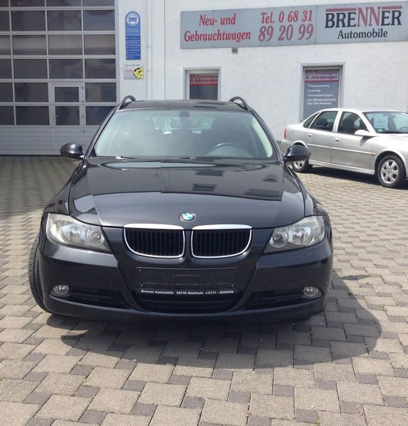verkauft bmw 318 d touring gebraucht 2007 km in saarlouis. Black Bedroom Furniture Sets. Home Design Ideas