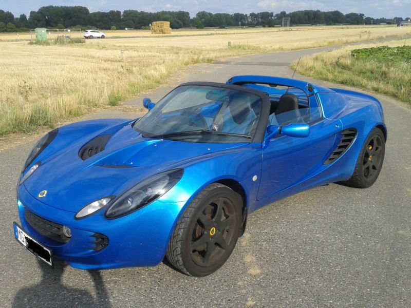 verkauft lotus elise mkii linkslenker gebraucht 2001 23. Black Bedroom Furniture Sets. Home Design Ideas