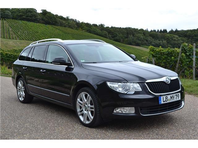 verkauft skoda superb combi 2 0 tdi am gebraucht 2011 km in neckarsulm. Black Bedroom Furniture Sets. Home Design Ideas