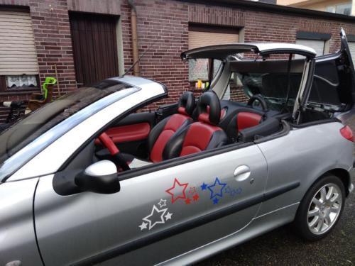 verkauft peugeot 206 cc cabrio gebraucht 2002 km. Black Bedroom Furniture Sets. Home Design Ideas