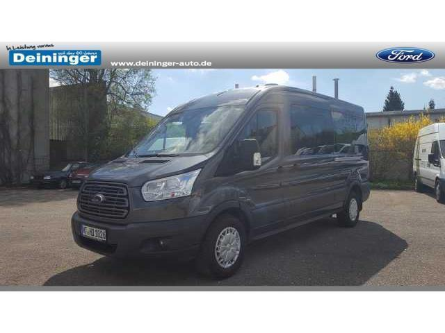 gebraucht kombi 310 l3 klima 9 sitzer ford transit 2015 km in neustadt am r ben. Black Bedroom Furniture Sets. Home Design Ideas