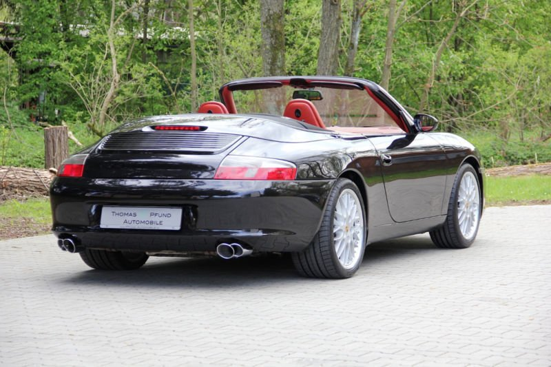 verkauft porsche 996 cabriolet facelif gebraucht 2002 km in aum hle. Black Bedroom Furniture Sets. Home Design Ideas