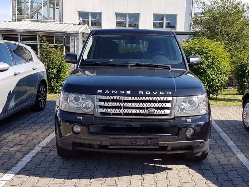 verkauft land rover range rover sport gebraucht 2008 km in pocking. Black Bedroom Furniture Sets. Home Design Ideas