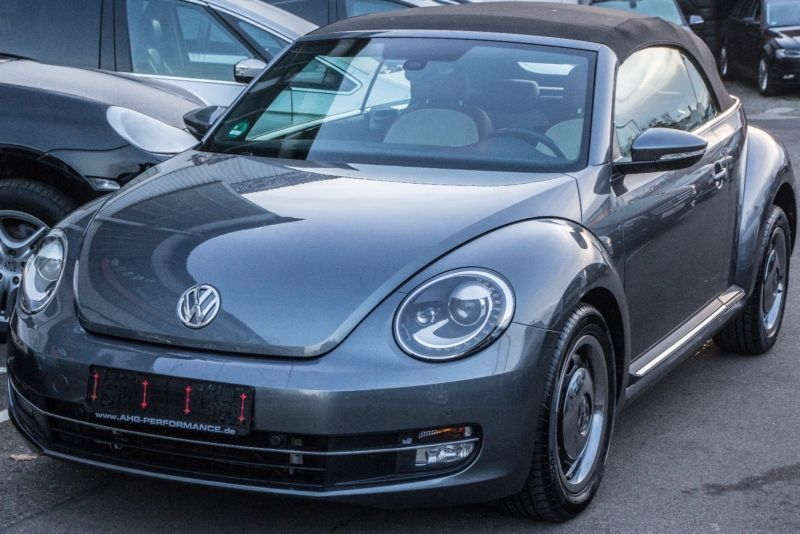 verkauft vw beetle cabrio 1 6tdi cup 1 gebraucht 2015. Black Bedroom Furniture Sets. Home Design Ideas