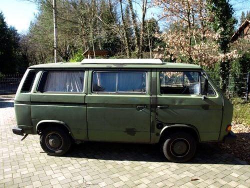 verkauft vw t3 bus kombi camper gebraucht 1985 km in altona. Black Bedroom Furniture Sets. Home Design Ideas