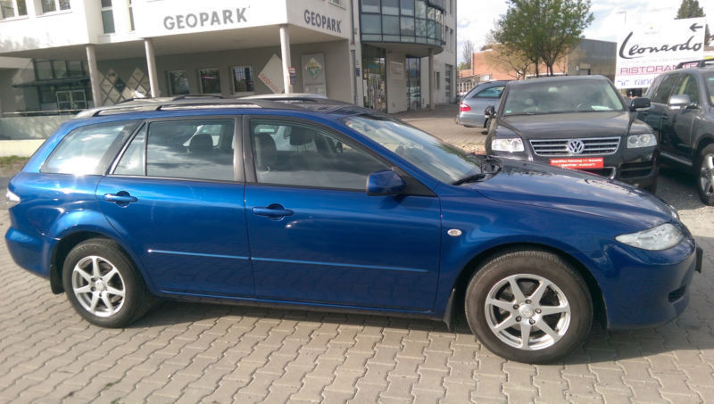 verkauft mazda 6 sport kombi 2 0 cd ex gebraucht 2003 km in reutlingen. Black Bedroom Furniture Sets. Home Design Ideas