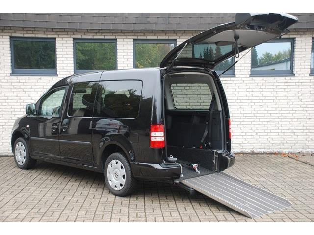 verkauft vw caddy maxi rollstuhl aktiv gebraucht 2014 km in beckum. Black Bedroom Furniture Sets. Home Design Ideas