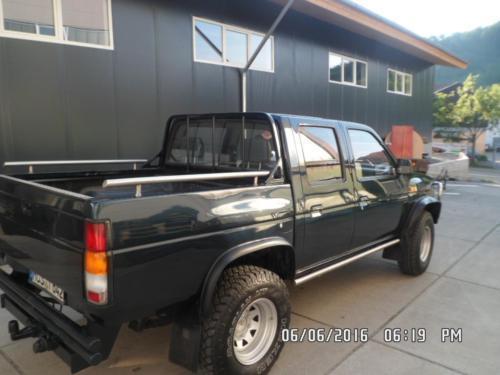 pickup gebrauchte nissan pickup kaufen 6 g nstige autos zum verkauf. Black Bedroom Furniture Sets. Home Design Ideas