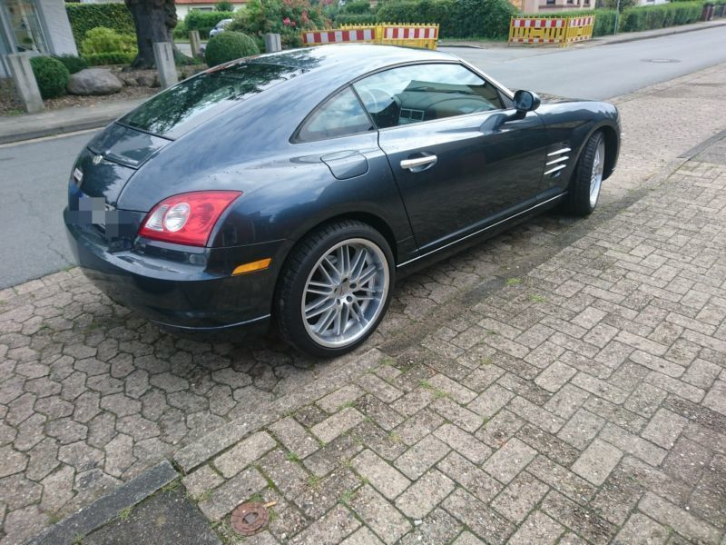verkauft chrysler crossfire black line gebraucht 2007 km in dresden. Black Bedroom Furniture Sets. Home Design Ideas
