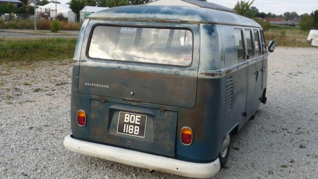 verkauft vw t1 11 fenster bus gebraucht 1964 km in ellgau. Black Bedroom Furniture Sets. Home Design Ideas