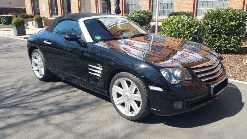 verkauft chrysler crossfire roadster c gebraucht 2004. Black Bedroom Furniture Sets. Home Design Ideas