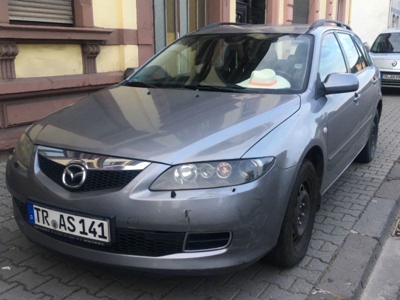 verkauft mazda 6 sport kombi 2 0 cd dp gebraucht 2007 km in trier. Black Bedroom Furniture Sets. Home Design Ideas