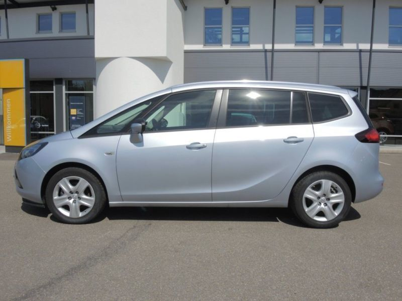verkauft opel zafira 1 4 turbo active gebraucht 2016 km in lauchringen. Black Bedroom Furniture Sets. Home Design Ideas