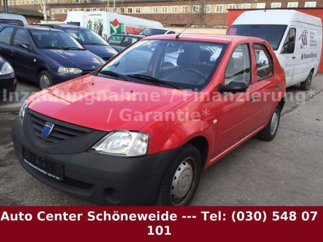 verkauft dacia logan 1 4 ambiance mpi gebraucht 2007 km in rathenow. Black Bedroom Furniture Sets. Home Design Ideas
