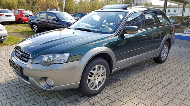 verkauft subaru outback 2 5 mit ahk k gebraucht 2004 km in bad aibling. Black Bedroom Furniture Sets. Home Design Ideas