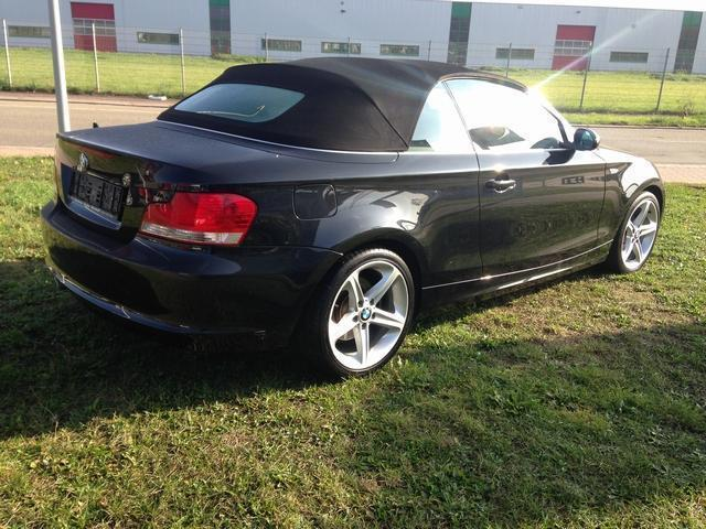 verkauft bmw 125 cabriolet 1 er baurei gebraucht 2008 km in neustadt. Black Bedroom Furniture Sets. Home Design Ideas