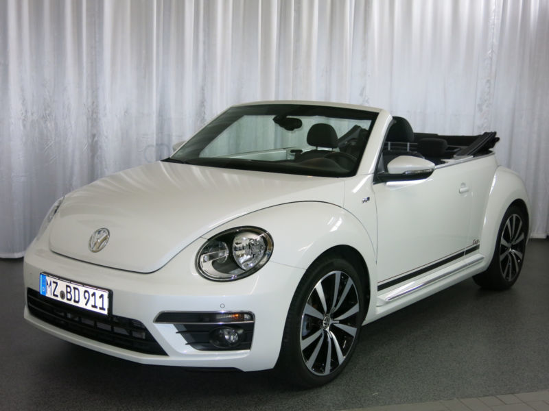 verkauft vw beetle cabrio 2 0 tdi karm gebraucht 2015 km in limburg. Black Bedroom Furniture Sets. Home Design Ideas
