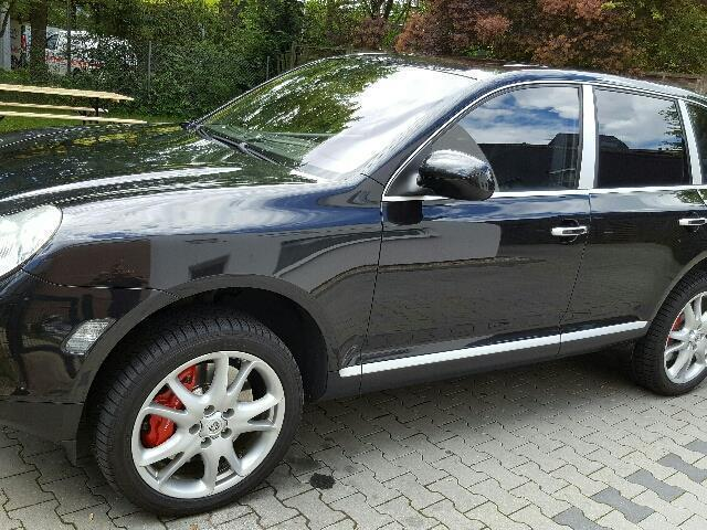 verkauft porsche cayenne turbo 4 5 v8 gebraucht 2007 230. Black Bedroom Furniture Sets. Home Design Ideas