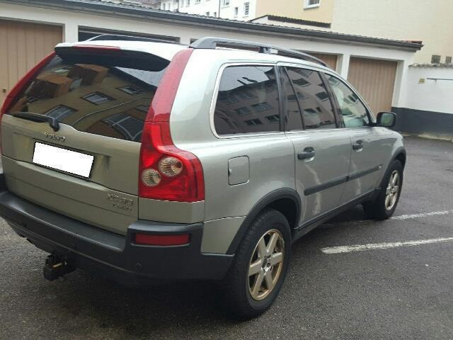 verkauft volvo xc90 awd 272 ps turbo 7 gebraucht 2004 km in aschaffenburg. Black Bedroom Furniture Sets. Home Design Ideas