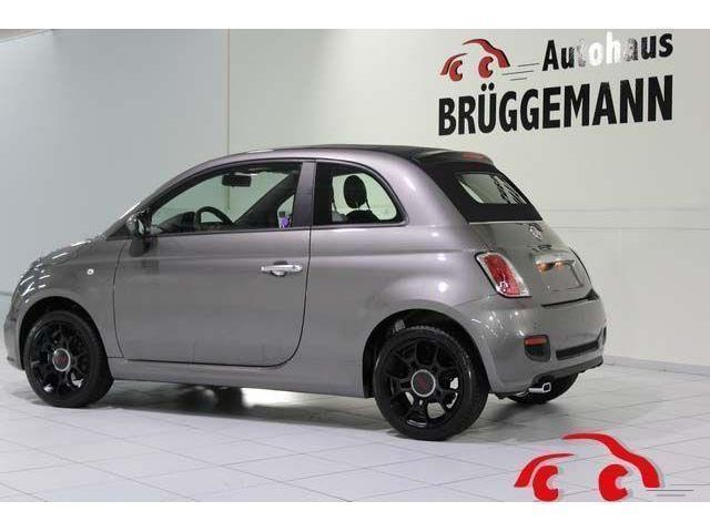 verkauft fiat 500c 1 2 lounge klima bl gebraucht 2014 15 km in rheine. Black Bedroom Furniture Sets. Home Design Ideas