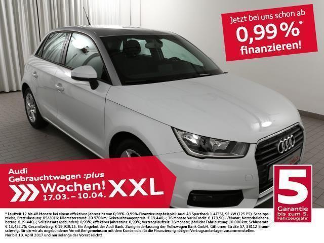 gebraucht Audi A1 Sportback 1.4TDi Alu/Media/SitzHzg.