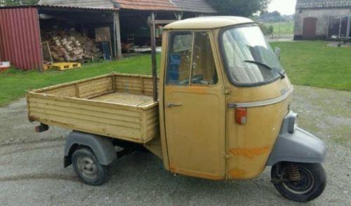 verkauft piaggio ape p501 gebraucht 1980 km in. Black Bedroom Furniture Sets. Home Design Ideas