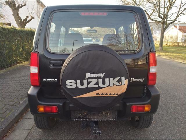 verkauft suzuki jimny schwarz met t v gebraucht 1998 km in bruchsal. Black Bedroom Furniture Sets. Home Design Ideas