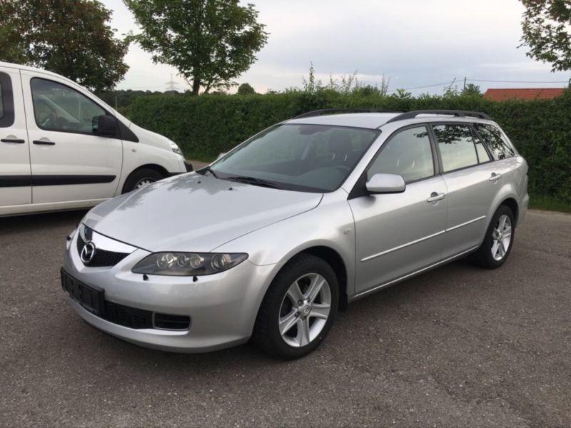 Verkauft Mazda 6 Kombi 2 0 Cd Sport Ac Gebraucht 2008 132 900 Km